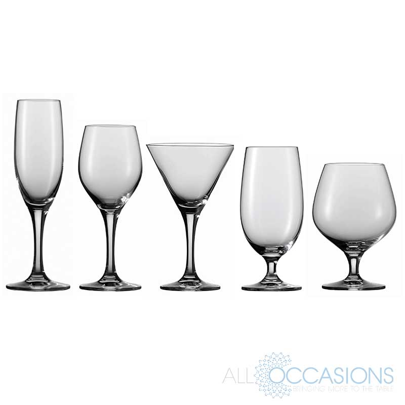 schott zwiesel mondial glassware all occasions party rental. Black Bedroom Furniture Sets. Home Design Ideas
