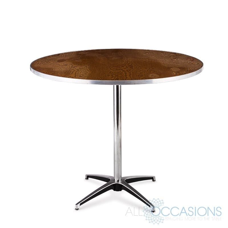 30 Inch Round Pedestal Table - All Occasions Party Rental