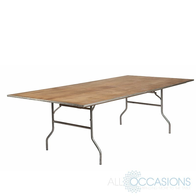 4 Foot X 8 Foot Rectangular Table All Occasions Party Rental