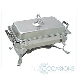 8 Qt Royal Crest Stainless Steel Chafer All Occasions Party Rental