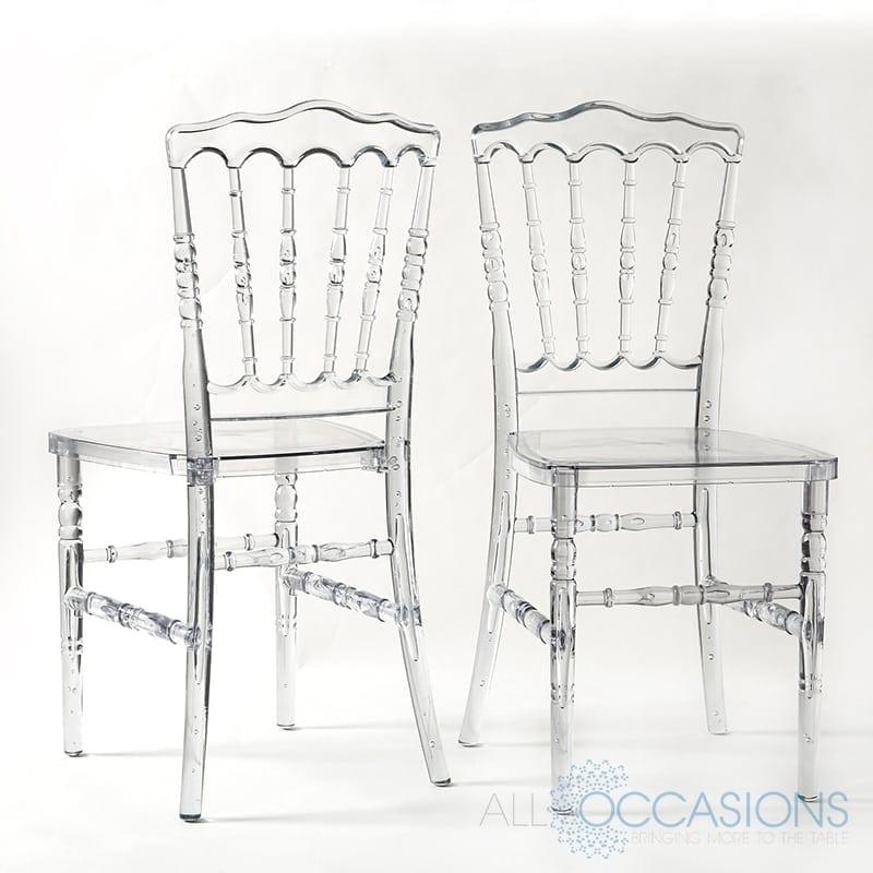 Superieur Crystal Napoleon Chair