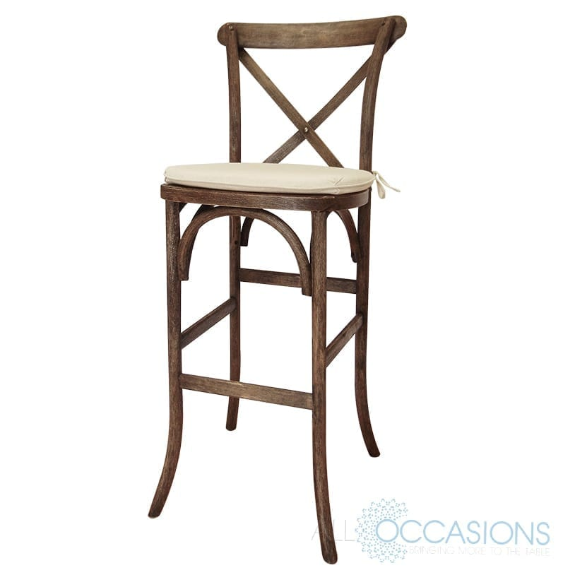 Fabulous Farm Barstool All Occasions Party Rental Download Free Architecture Designs Rallybritishbridgeorg