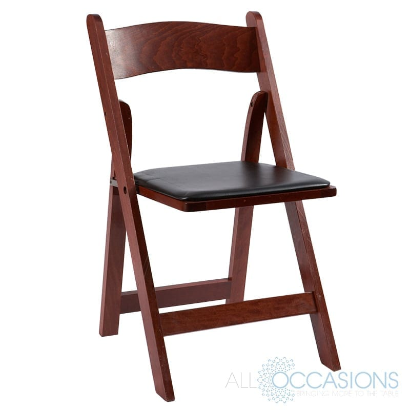 Marvelous Garden Mahogany Chair All Occasions Party Rental Cjindustries Chair Design For Home Cjindustriesco