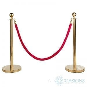 Stanchions and Rope
