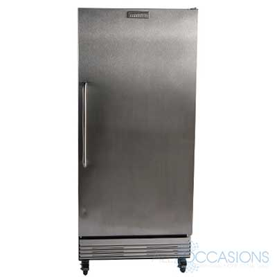 Single Door Commercial Refrigerator All Occasions Party Rental