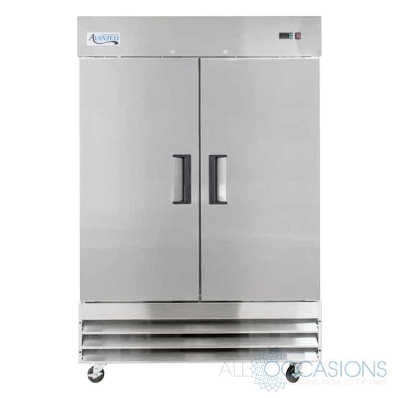 Freezer Double Door Commercial All Occasions Party Rental